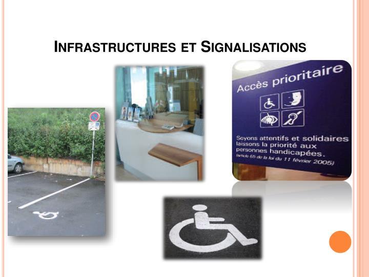 Infrastructures et Signalisations