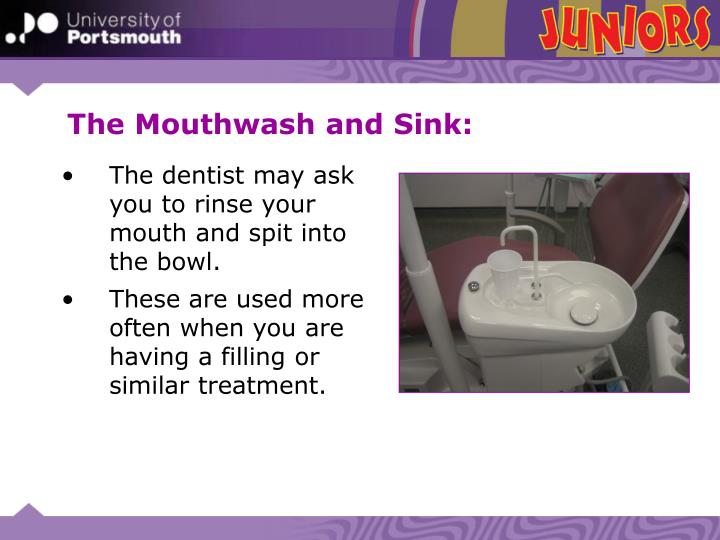 The Mouthwash and Sink: