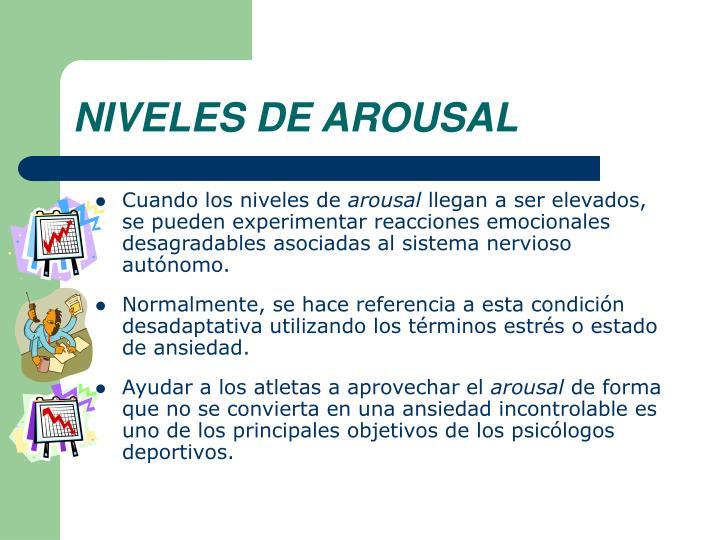 NIVELES DE AROUSAL