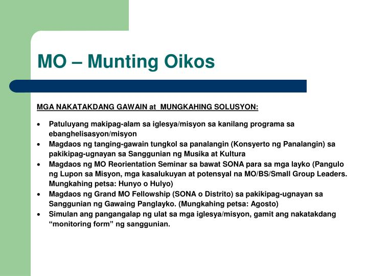 MO – Munting Oikos