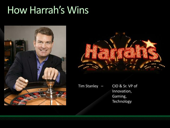 How Harrah's Wins