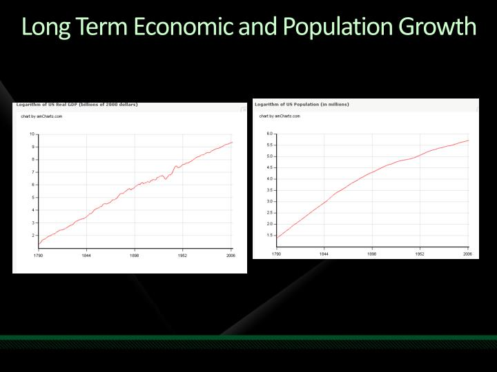 Long Term Economic and Population Growth