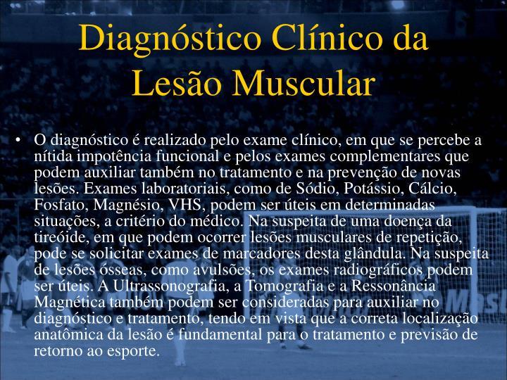 Diagnóstico Clínico da