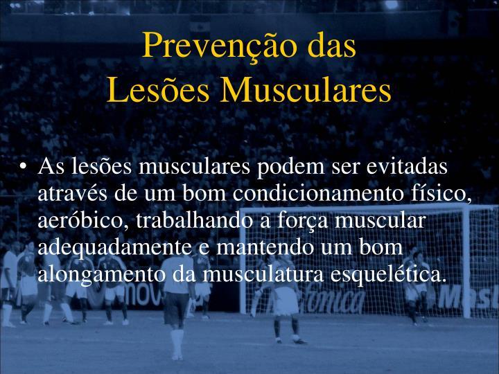 Prevenção das