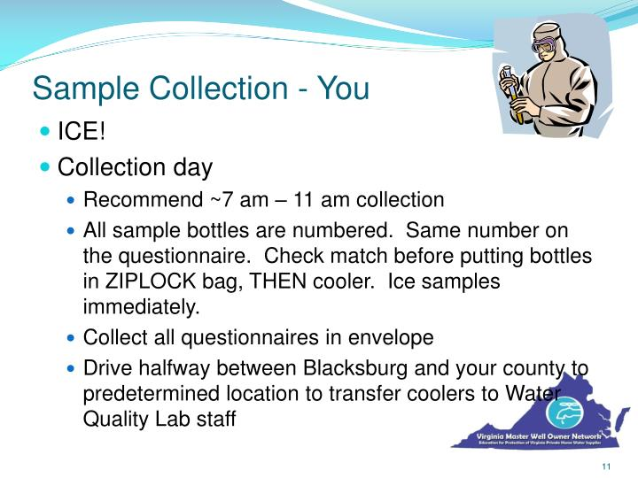 Sample Collection - You