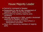 house majority leader