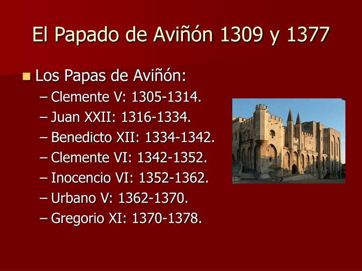 El Papado de Aviñón