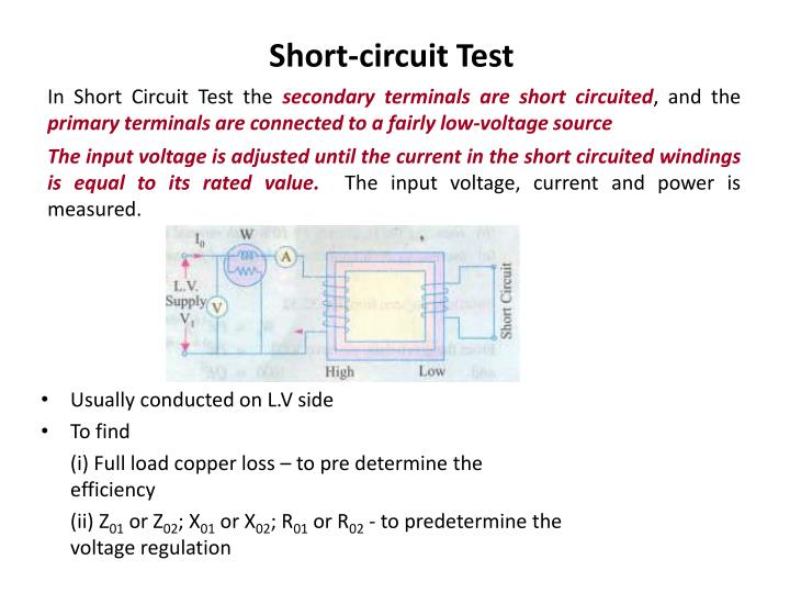 Short-circuit Test