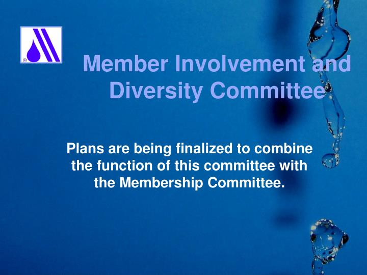 Member Involvement and
