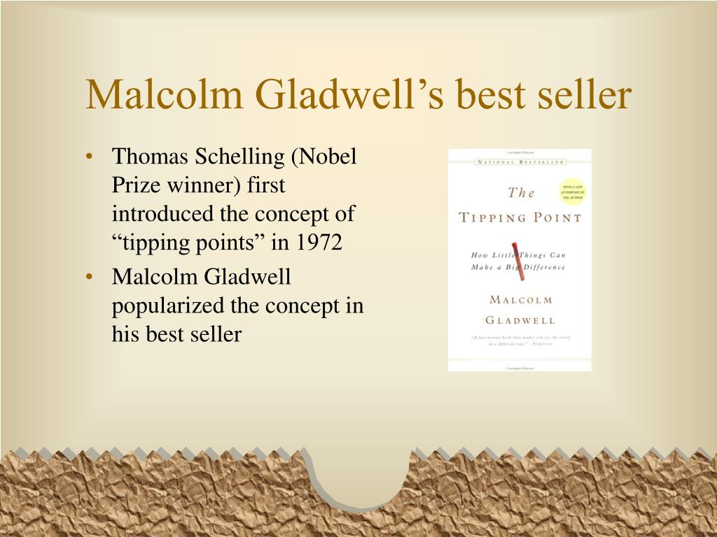 Malcolm Gladwell's best seller