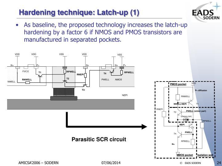 Hardening technique: Latch-up (1)