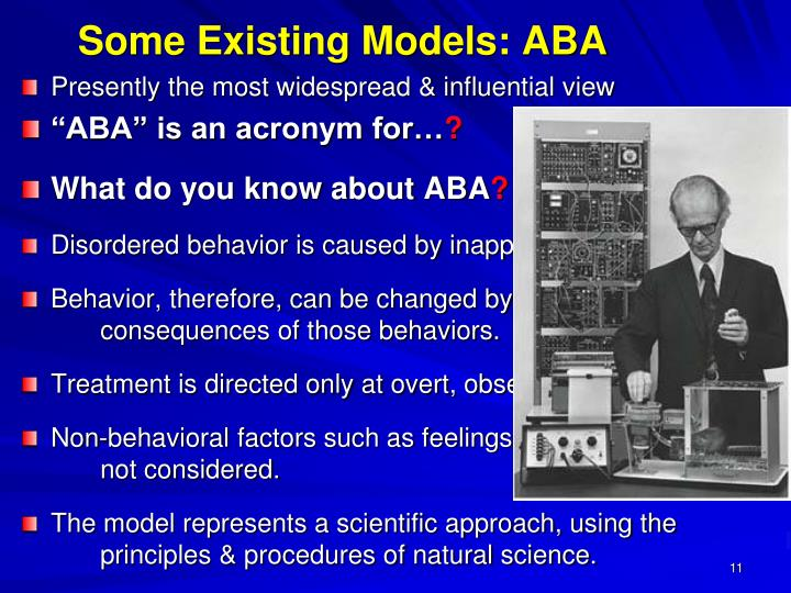 Some Existing Models: ABA