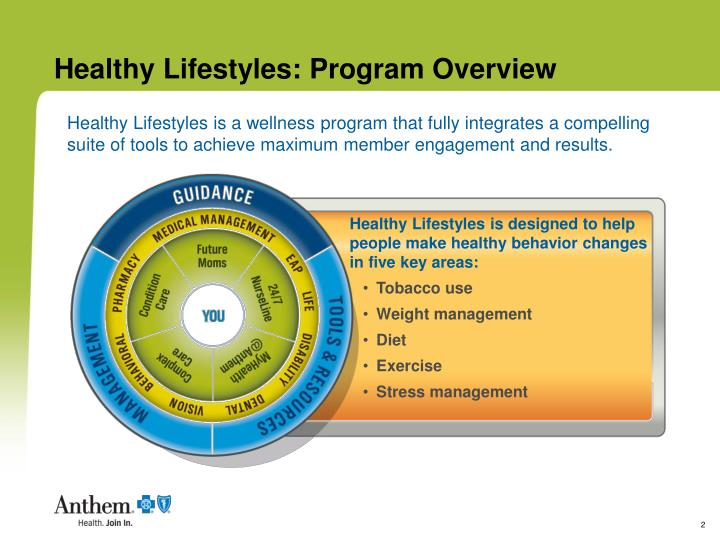 Healthy lifestyles program overview1