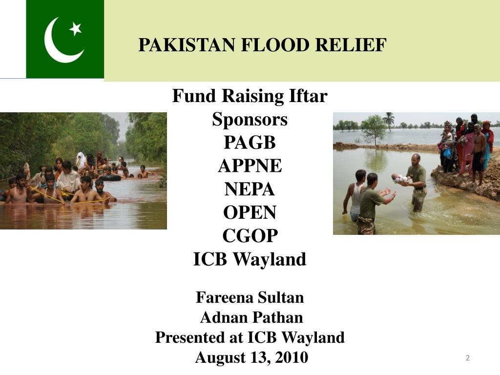 PAKISTAN FLOOD RELIEF