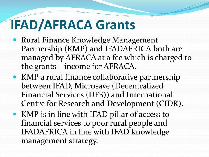 IFAD/AFRACA