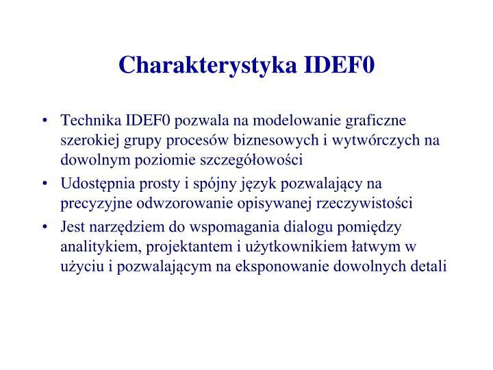 Charakterystyka IDEF0