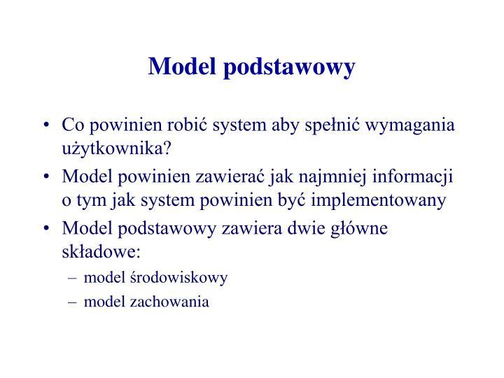 Model podstawowy