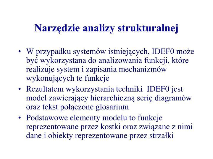 Narzędzie analizy strukturalnej