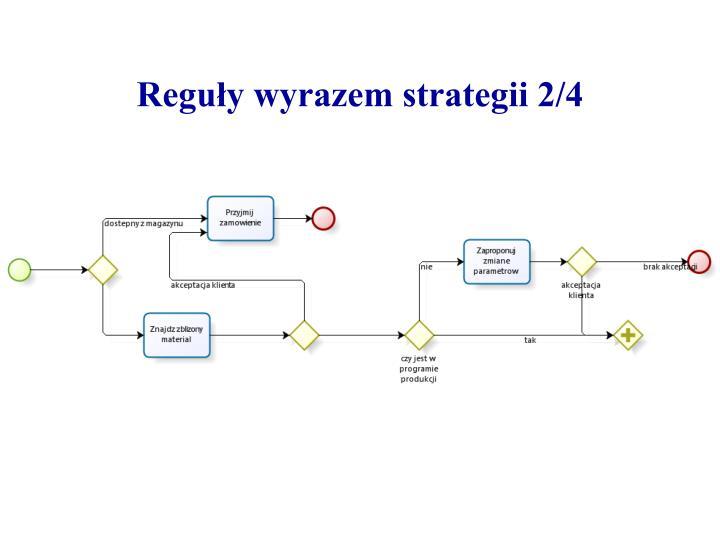 Reguły wyrazem strategii 2/4
