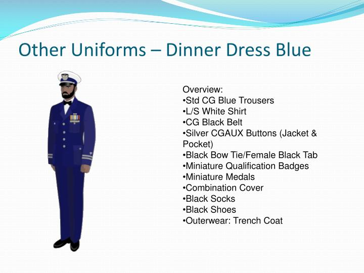 Ppt United States Coast Guard Auxiliary Uniform Overview