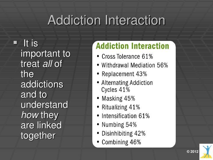 Addiction Interaction