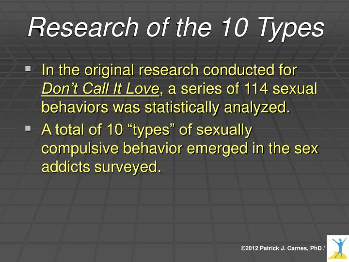 Research of the 10 Types