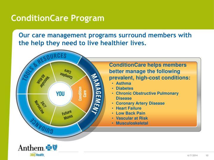 ConditionCare Program