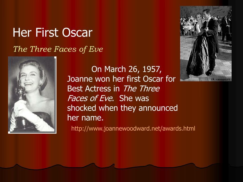 Her First Oscar