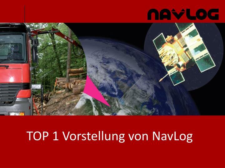 TOP 1 Vorstellung von NavLog