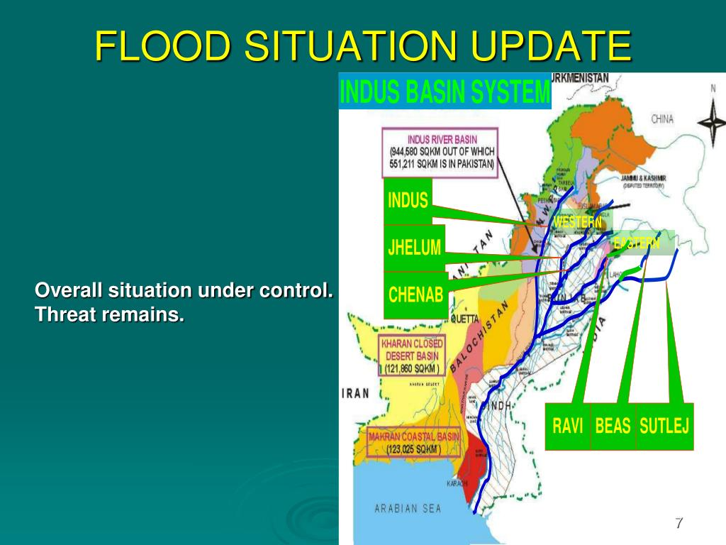 FLOOD SITUATION UPDATE