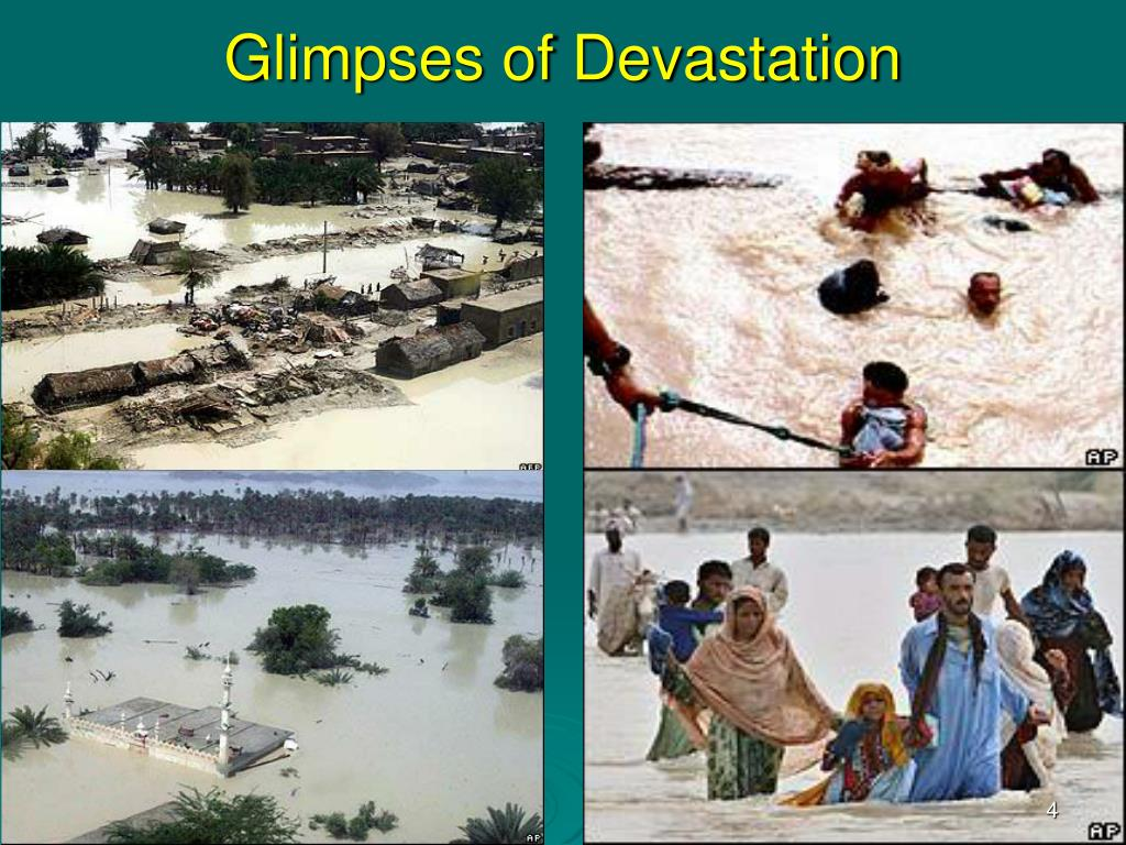 Glimpses of Devastation