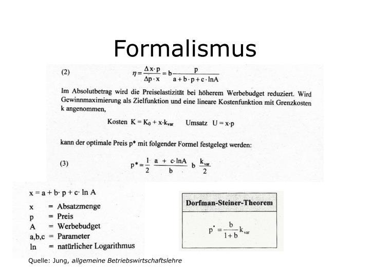 Formalismus