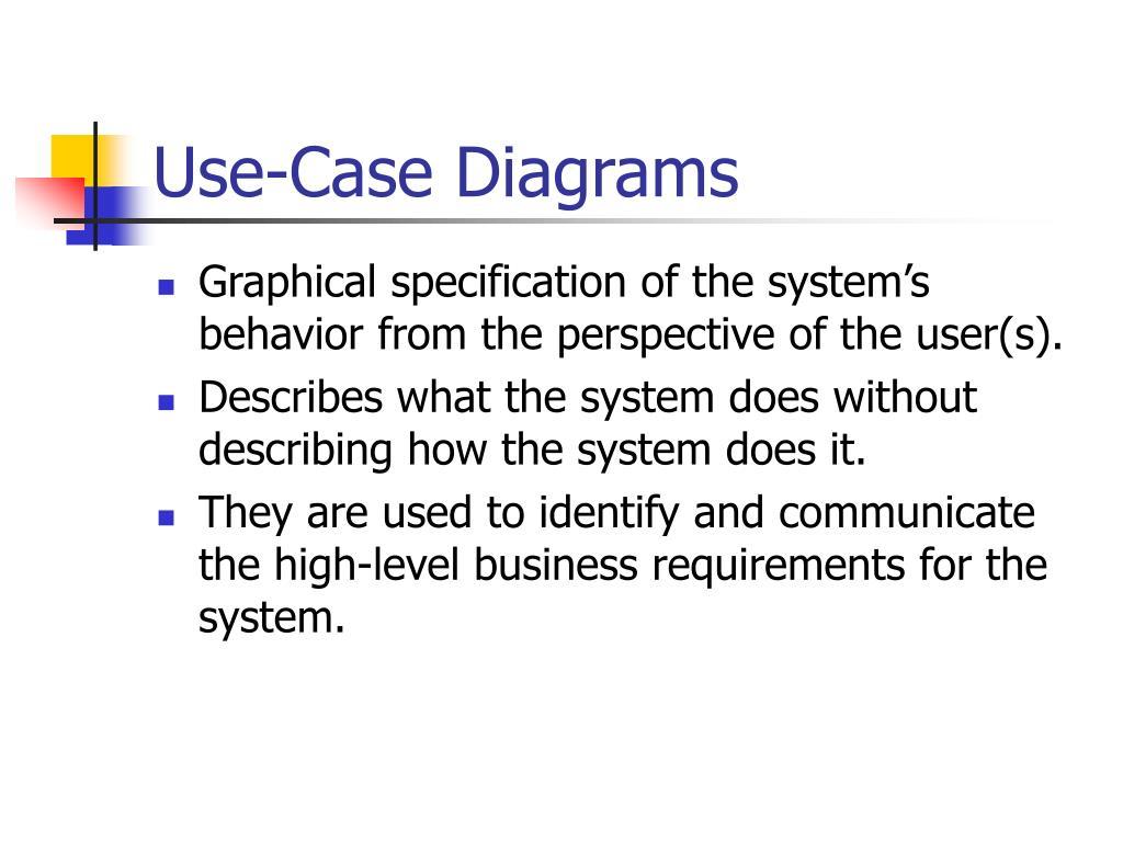 Use-Case Diagrams
