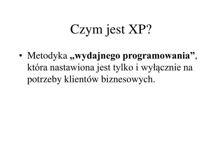 Czym jest XP?