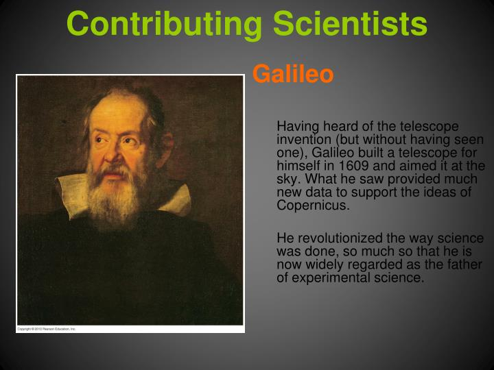 Contributing Scientists