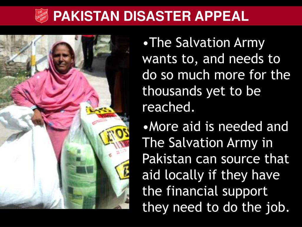 The Salvation Army wants to, and needs to do so much more for the thousands yet to be reached.