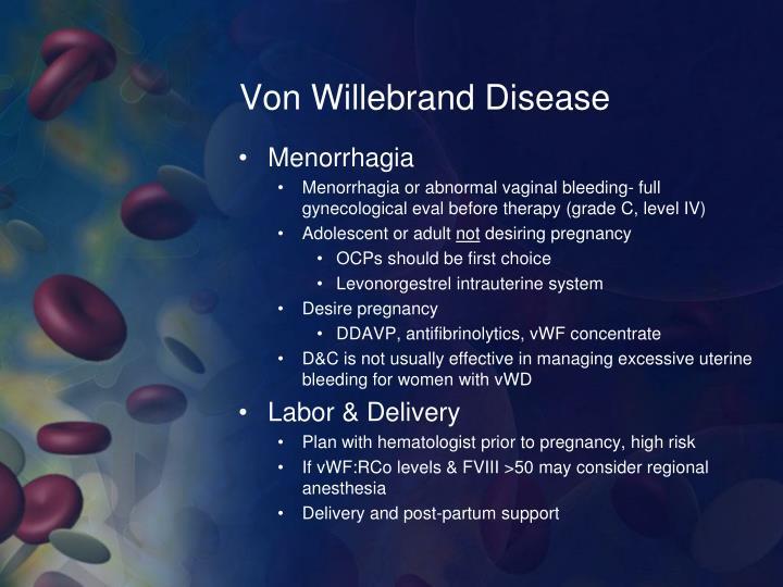 Von Willebrand Disease