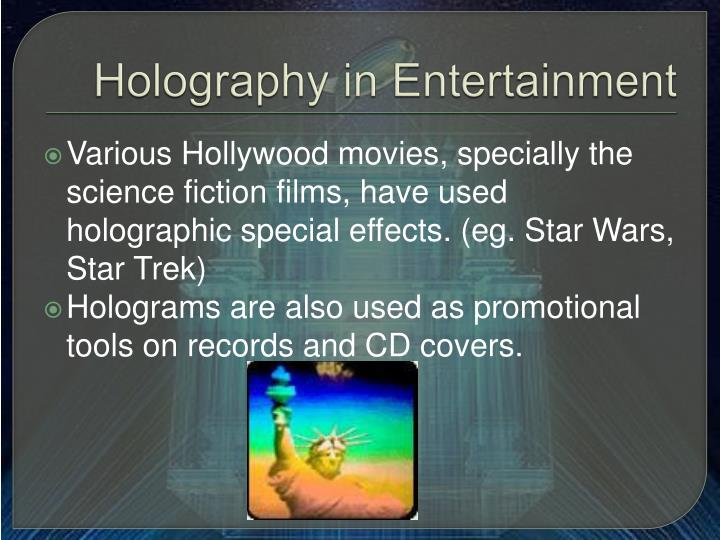 NEW holography TECHNOLOGY ALL PPT