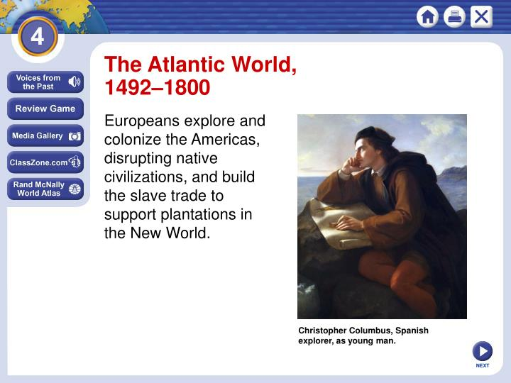 The Atlantic World,