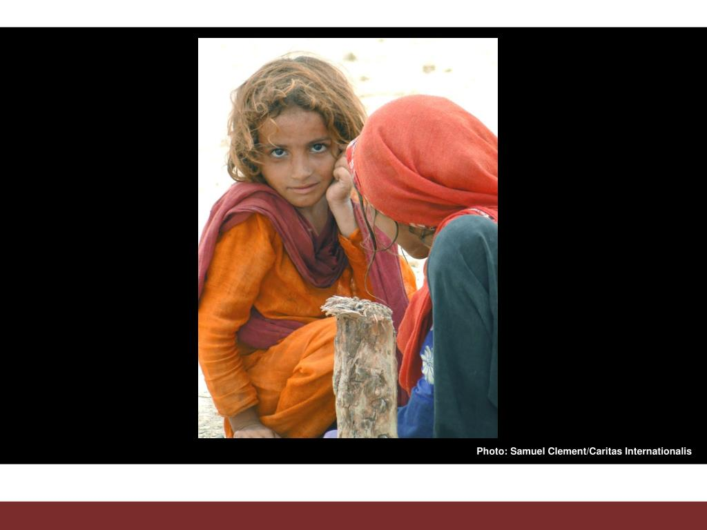Photo: Samuel Clement/Caritas Internationalis