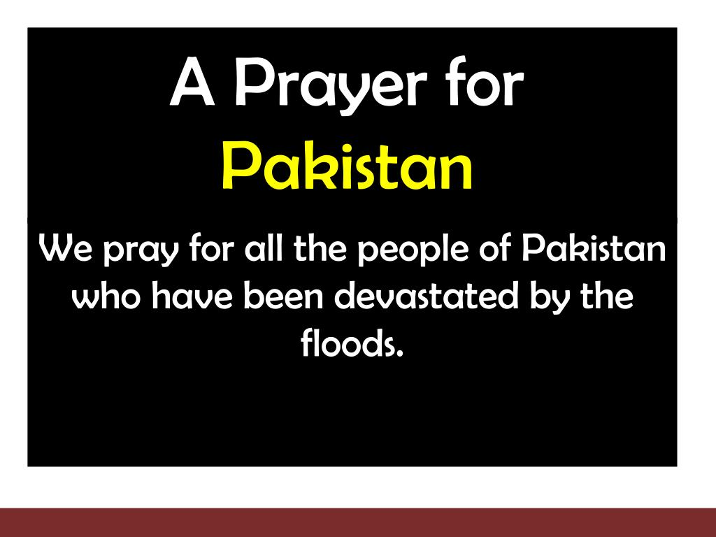A Prayer for