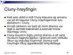 cluny hreyfingin1