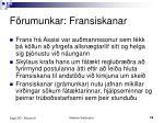 f rumunkar fransiskanar