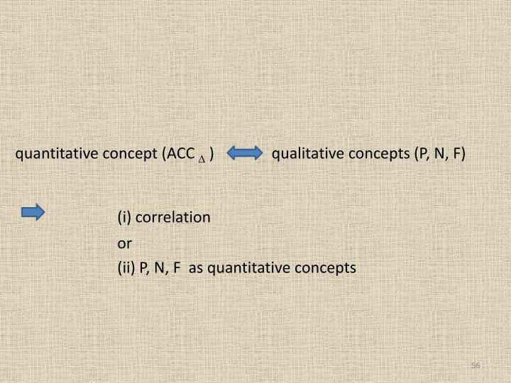 quantitative concept (ACC