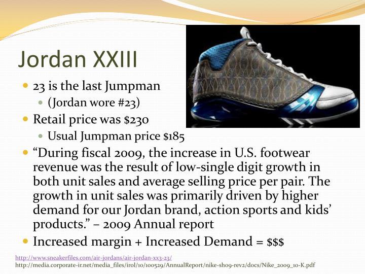 Jordan XXIII