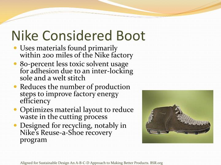 Nike Considered Boot
