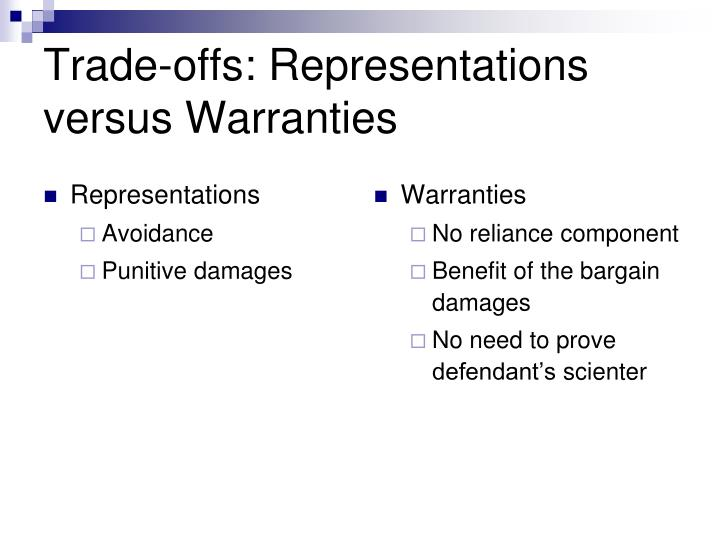 Representations, Warranties, and Indemnification Sample Clauses