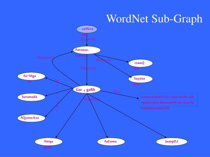 WordNet Sub-Graph