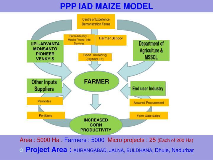 PPP IAD MAIZE MODEL