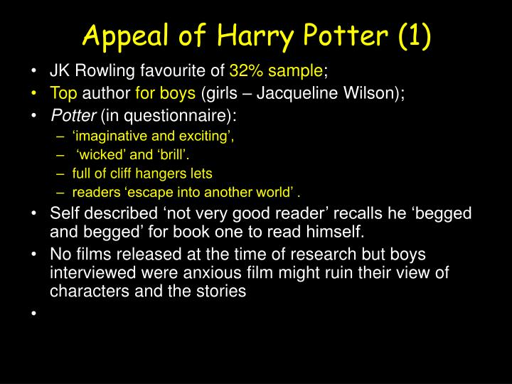 Appeal of Harry Potter (1)
